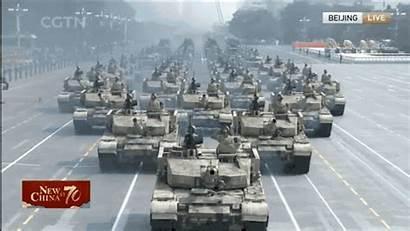 China Parade Tanks Cgtn Military Shown