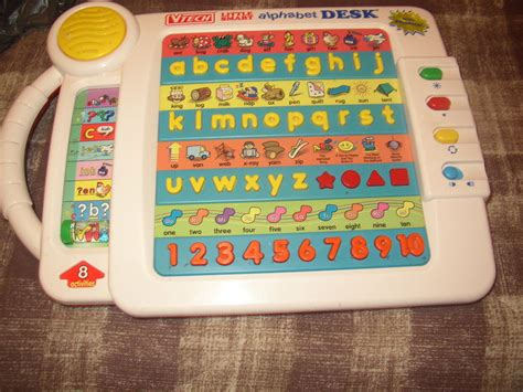 vtech smart alphabet picture desk ebay free vtech smart alphabet picture desk learning