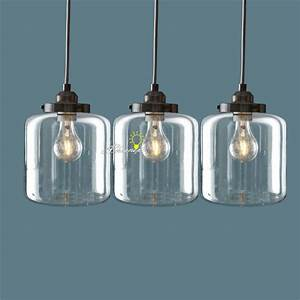 Nordic clear glass jar pendant lighting 8861 free ship for Glass jar floor lamp