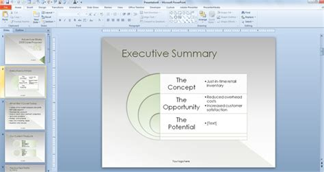 sales proposal powerpoint template