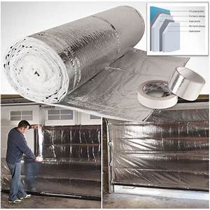 Isoler Une Porte De Garage : kit isolation thermique sp cial porte de garage achat ~ Dailycaller-alerts.com Idées de Décoration