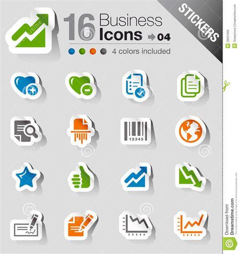 bureau web stickers pictogrammen het web het bureau en de