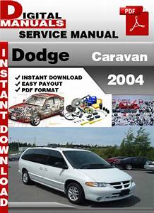 2004 Dodge Sprinter Repair Manual