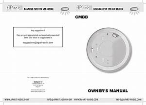 Manual Cm6st Cmbb