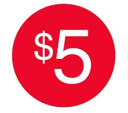 $5 STICKERS – Lovisa Signage