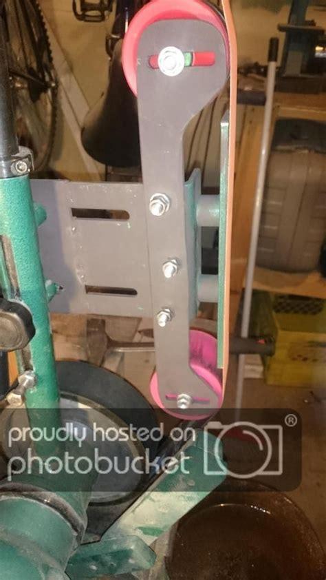 image result  grizzly  belt grinder mods belt