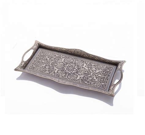 decorative trays for ottomans vintage decorative ottoman serving tray fairturk com