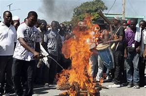 Haiti anti-government protest turns violent | News | Al ...
