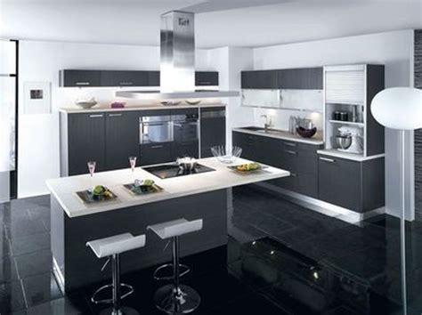 exemple cuisine avec ilot central deco cuisine moderne