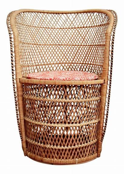 Rattan Boho Chairish Chairs Chair Slipper Furniture