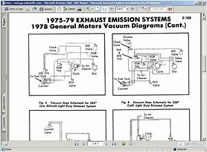 I Need A Vacuum Line Diagram For A  U0026 39 78 Chevy Truck W   High Output 305  The Origonal Engine Was A