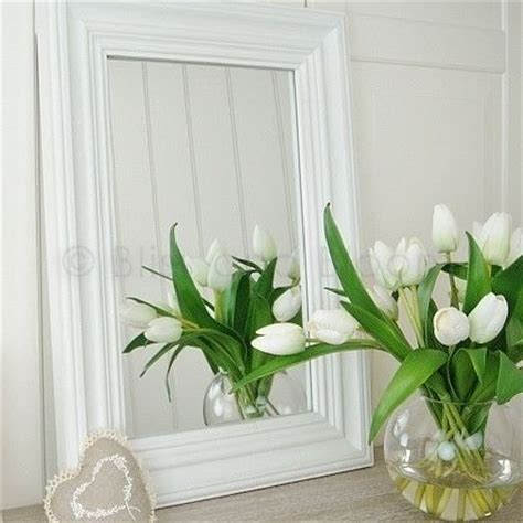 Country Style White Wall Mirror  Bliss And Bloom Ltd