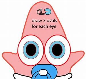 How to Draw Baby Patrick Star from SpongeBob SquarePants ...