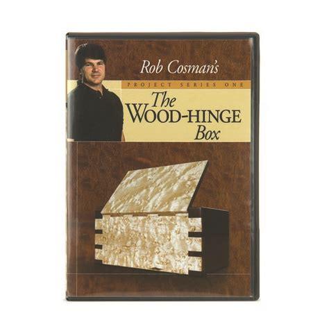 rob cosman wood hinge box dvd