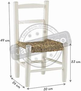 Chaise Bois Enfant : petite chaise bois pour enfant blanc ~ Teatrodelosmanantiales.com Idées de Décoration