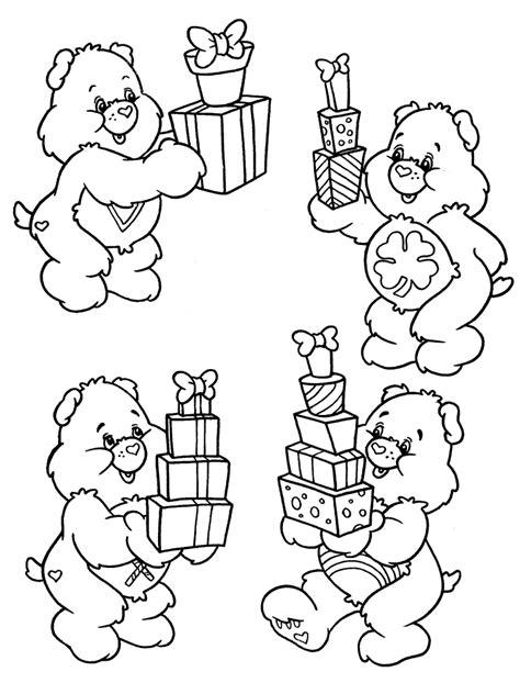 Målarbilder för barn Krambjörnarna