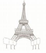 hd wallpapers france eiffel tower coloring page - France Eiffel Tower Coloring Page
