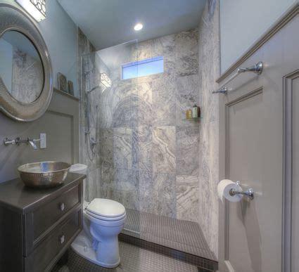 small bathroom  bigger