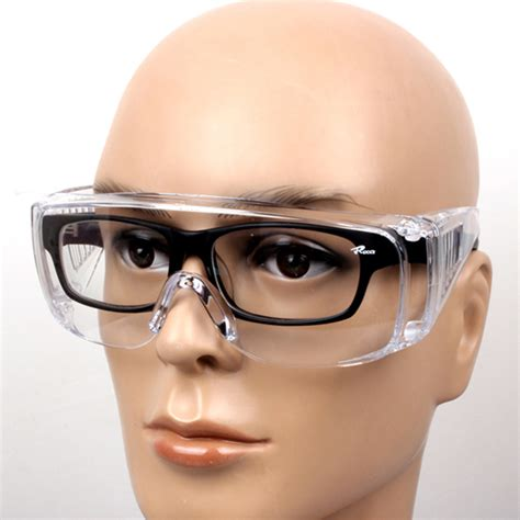 1x vented safety pe goggles glasses eye protection