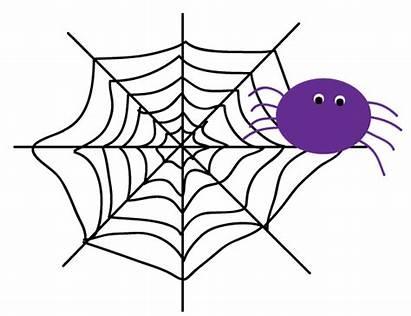 Clipart Spider Web Clip Halloween Transparent Spiderweb