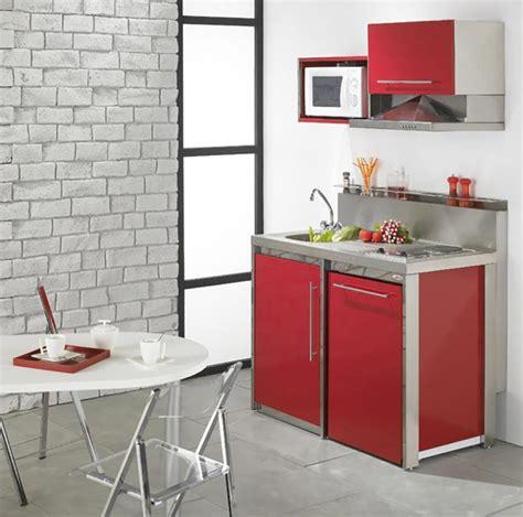 mini bloc cuisine la kitchenette moderne équipée et sur optimisée
