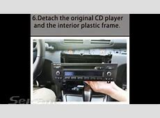 How to install upgrade car stereo for BMW 1 Series E81 E82