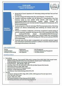 Ccna Resume Sample Top 5 Network Security Engineer Resume Samples In Word