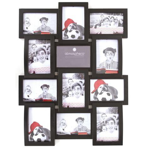 cadre photo personnalise pele mele p 234 le m 234 le 12 photos noir