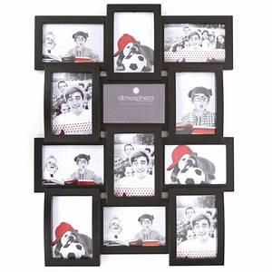 Cadre Pêle Mêle : p le m le 12 photos noir ~ Teatrodelosmanantiales.com Idées de Décoration