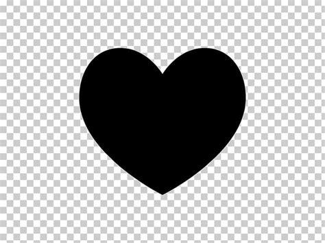 heart silhouette png clipart art black black  white