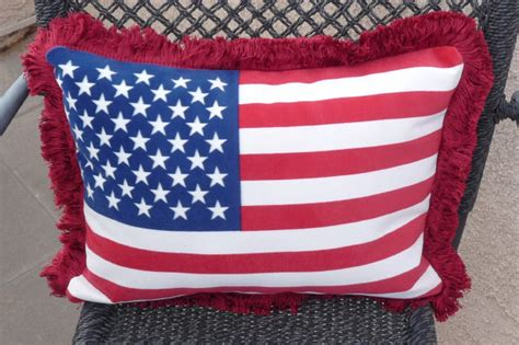american flag pillow patriotic american flag pillows fast easy sewing