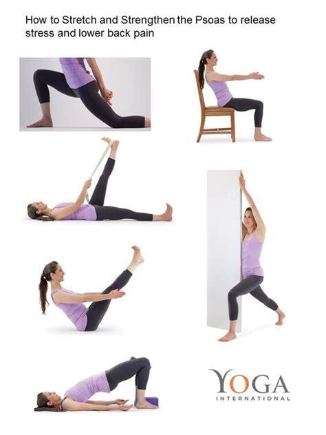 Advisable psoas exercise back pain free