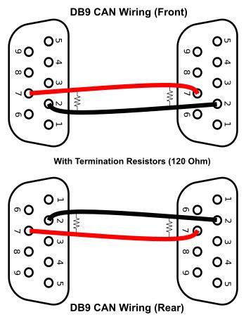 Db9 Connector Wiring Diagram by Can Wiring Diagram A Basics Tutorial Tek Eye
