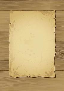 Old wood and paper vector Free Vector / 4Vector