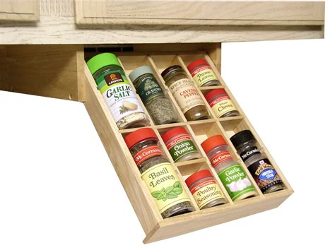 Spice Rack Ideas For The Kitchen And Pantry