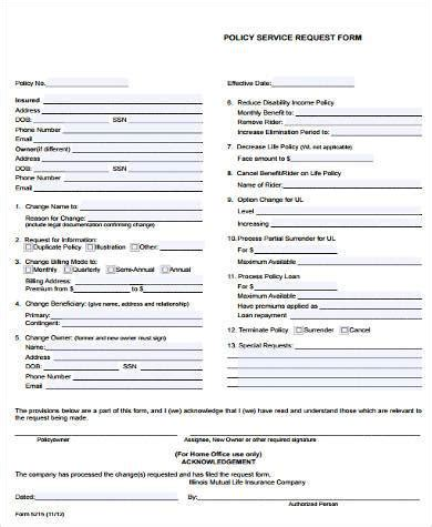 service request form sles 8 free documents in word pdf