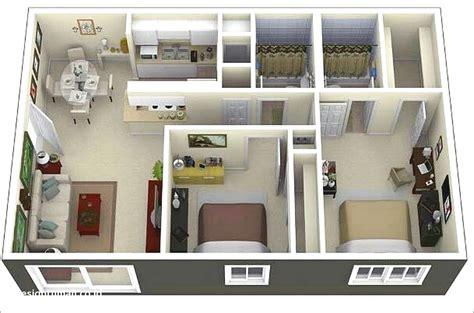 denah rumah minimalis  kamar tidur