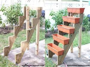diy simple vertical planter structure garden