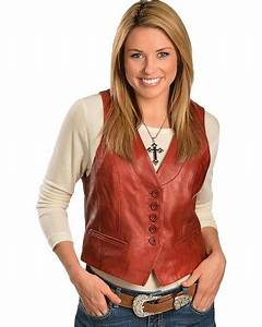 Scully Lamb Leather Vest - Sheplers