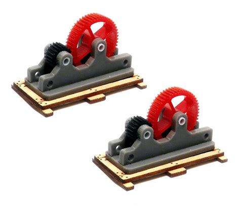 Parts And Accessories by Bachmann Ho Scale Accessories Machinery Parts 2 Pk