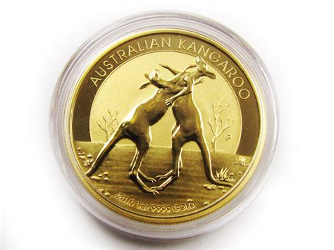 Boxing Kangaroos 2010 One Ounce Gold Proof Coin