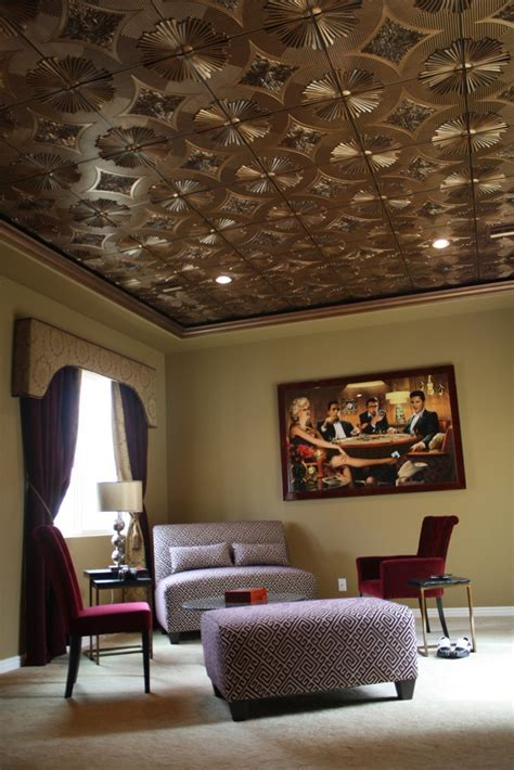 sunset boulevard faux tin ceiling tile