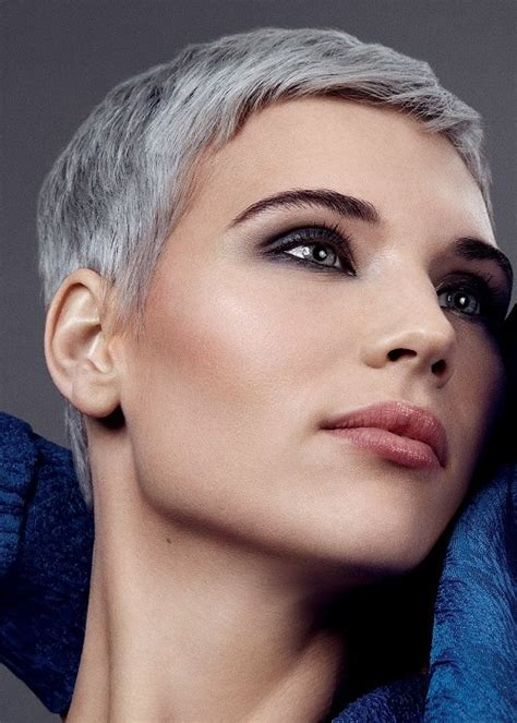 pixie haircuts for gray hair gorgeous grey hairstyle ideas for 2016 2019 3810