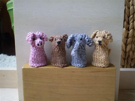 Animal Finger Puppet Patterns Free