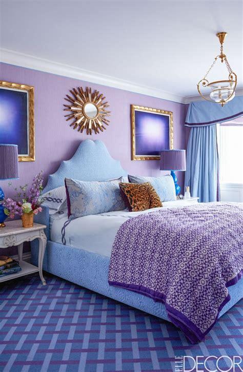 chambre violet 1001 idées pour la décoration d 39 une chambre gris et violet
