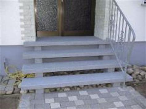 außentreppe mit podest stein steintreppe au 223 en