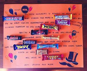 Candygram using... Australian Mom Quotes