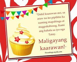Happy Birthday Messages in Tagalog Wordings and Messages ...