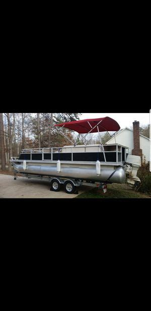 Used Pontoon Boats For Sale In Charlotte Nc by New And Used Pontoon Boats For Sale In Charlotte Nc Offerup