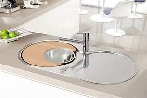 Evier Inox Rond : les tarifs d un evier rond ou ovale ~ Melissatoandfro.com Idées de Décoration